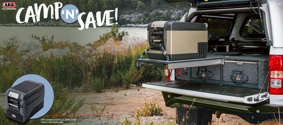 Promotion ARB Camp and save